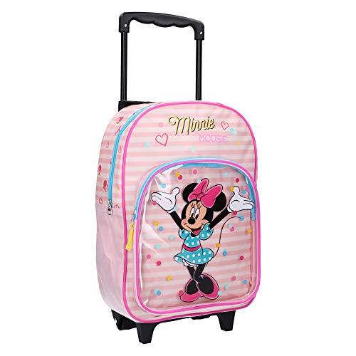 Spielwaren Klee Disney Minnie Mouse Trolley Koffer Kinderkoffer Rucksack Reisekoffer Pink 8571