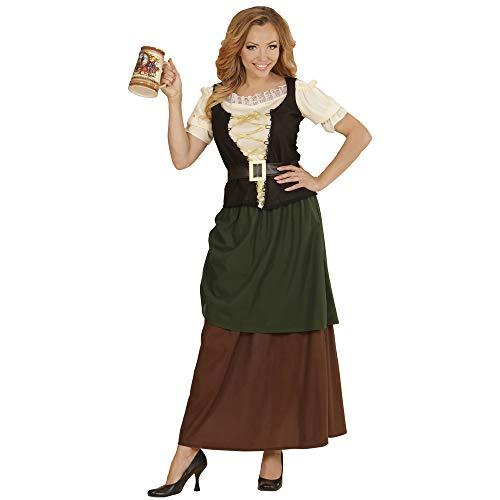 Italienische Kellner Kostüm - Widmann Erwachsenenkostüm Gastwirtin