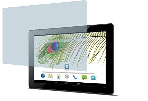 4ProTec Odys Visio (2 Stück) Premium Bildschirmschutzfolie Displayschutzfolie kristallklar Schutzhülle Bildschirmschutz Bildschirmfolie Folie