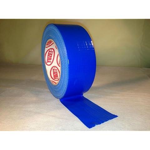 Yuzet Premium cinta americana azul 48 mm x 50 m cinta americana lista de gamuza de Americana de pato, Azul