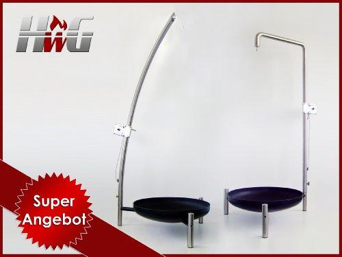 Galgengrill, Premium Black Classic 75 cm