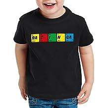 CottonCloud Sheldon Tabla Periódica Camiseta para Niños T-Shirt química