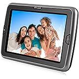 LESHP - Reproductor de DVD para Coches (720P, pantalla TFT de 10.1'', mando a distancia), negro
