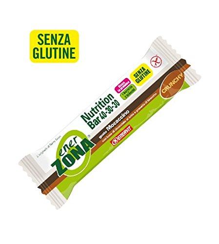 Enerzona nutrition bar 40-30-30 gusto mocaccino confezione da 25 barrette
