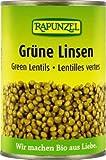 Rapunzel Grüne Linsen in der Dose, 4er Pack (4 x 400g) - Bio