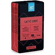 "Amazon Brand - Happy Belly Ground Coffee ""Caffè Soave"" (4 x 250g)"