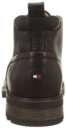 Tommy Hilfiger Herren C2285urtis 12as Chukka Boots Schwarz (Black)