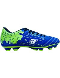 Gowin Crush Blue/Green Football Shoes Material TPU