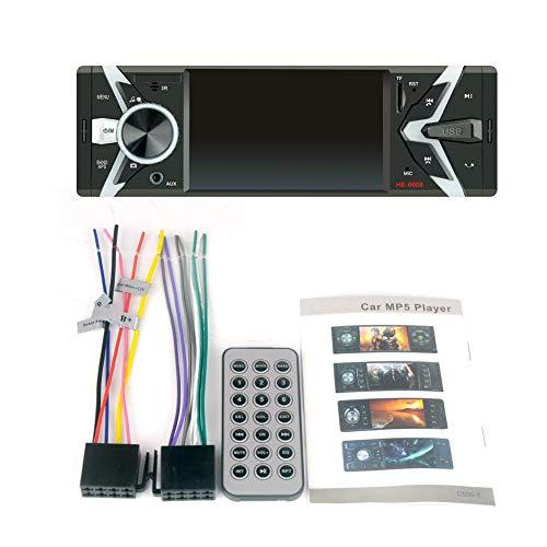 Wovemster Auto da 4.1 Pollici MP4 Player Music Video Bluetooth Microfono Vivavoce per TFT Digital Multimediale Portatile