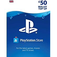 PlayStation PSN Card 50 GBP Wallet Top Up | PSN Download Code - UK account