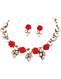 Manas Multi Color Alloy Necklace Set For Women
