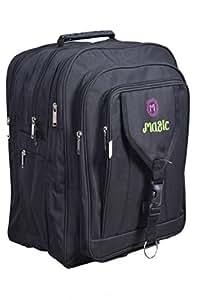 S.L Fabric 45 Ltr Black School Backpack