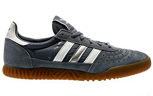 adidas Indoor Super Schuhe raw Steel/FTWR - Orange Tennisschuhe