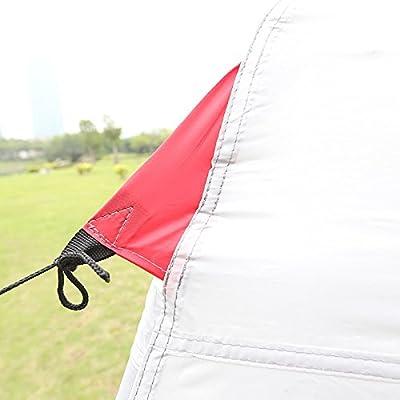 Gouqin Fashion Portable Outdoor Camping Rain Double-Decker Big Tent