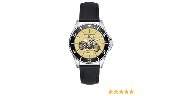 Geschenk für Harley Davidson Street Bob Motorrad Fahrer Kiesenberg Uhr 20408