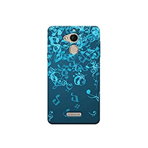 Motivate Box Raining Music Design, All Side Printed Hard Plastic Phone's Back case/Cover for Coolpad Note 5