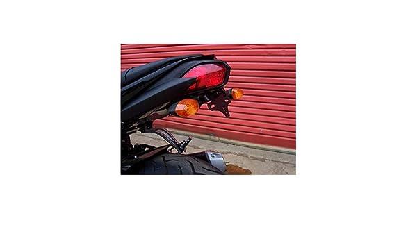 Licence Plate Holder Yamaha FZ 8 Fazer 800 2010 LP0024BK Black R/&G Tail Tidy