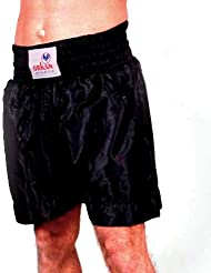 Tempête Sports Thai Boîte Pantalon le kickboxing Muay Thai Short Noir