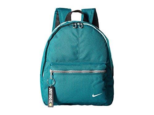 Nike y Classic Base Bkpk Mochila, Unisex Niños, Negro / Azul (Blustery Mint Foam), S