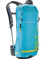 EVOC FR Lite - Neon Blue - M-L - muy ligero para hombre protectores Bike-mochila, 10L