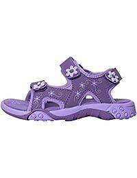 Mountain Warehouse Seaside Junior Sandals - Neoprene Lining, Flexible Kids Summer Shoes, Removable Heel Strap Flip Flops - For Spring Walking, Travelling & Beach