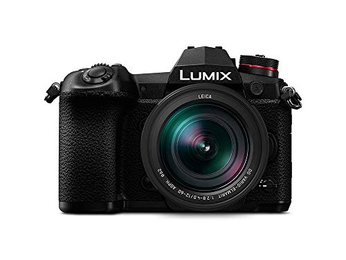 Panasonic Lumix Mirrorless Compact System Camera DC-G9LEB-K with 4K Video, 6K Photo and 12-60mm Leica Camera Lens