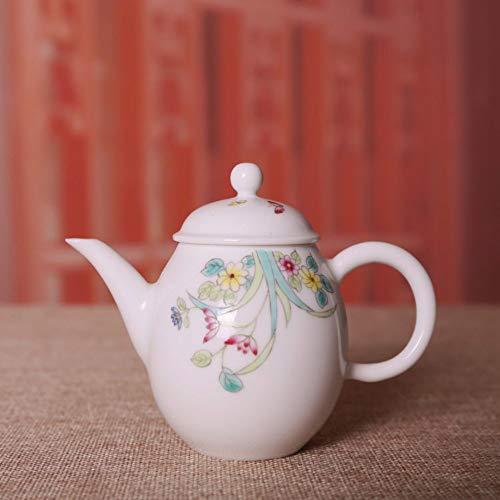 Teekanne Aus Keramik Kessel Handgefertigte Keramik Handbemalt Pastell Bunte Blume Beauty Pot...