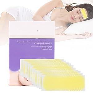 Parches antiarrugas de silicona, 10 piezas Tiras de frente Gel de colágeno Anti-envejecimiento almohadillas hidratantes contra la frente arrugas facial plegables (Amarillo)