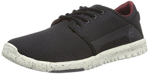 Etnies Scout, Chaussures de Skateboard homme Noir (black/white/grey)