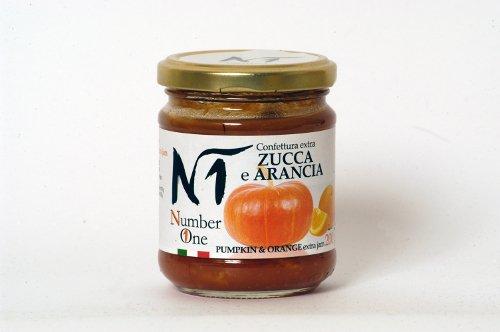 Confettura extra zucca e arancia. Vasetto 200 gr