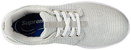 Supremo - 2723902, Scarpe da ginnastica Donna Argento (Silver)