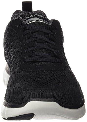 Skechers Flex Advantage 2.0, Chaussures Multisport Outdoor Homme Noir (Bkw)