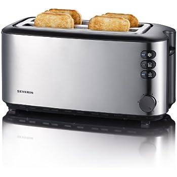 Breville Vtt233 Black 4 Slice Toaster Amazon Co Uk