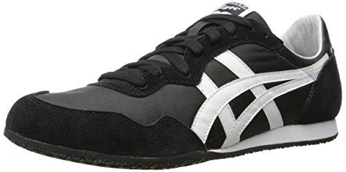 ASICS - - Herren Serrano Onitsuka Tiger Schuhe, 42 EU, Black/White
