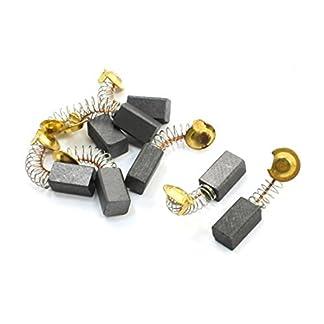 DealMux motor escobillas de carbón para Hitachi amoladora angular, 13 x 7 x 6 mm, 8 pieza