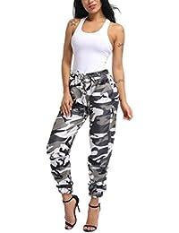 068ed29f27a3 Pantalons imprimés pour Femmes, GreatestPAK Sports Camo Pantalon Casual  Yoga en Plein air de Course