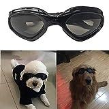SHUIBIAN - Occhiali da Sole per Cani, alla Moda, Impermeabili, con Protezione UV, per Cani di Piccola Taglia
