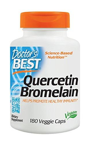 Doctor's Best, Quercetin/Bromelain, 180 Veg. Kapseln Test
