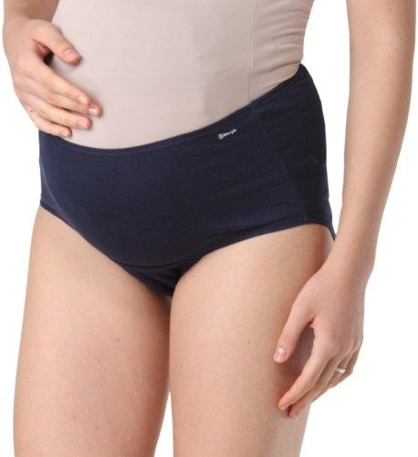 Morph Maternity Hygiene Panties Prevents UTI / Maternity Panty / Soft Cotton Panty / Pregnancy Panty / Pregnancy underwear / Comfortable fit throughout Pregnancy (X-Large, NAVY BLUE)