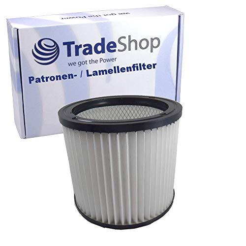 Rund-Filter Lamellenfilter Patrone für Aqua Vac Super 40, Aqua Vac Synchro 40 AC, Herkules 6309 P, Shop Vac Ultra 40 Blower, Aqua Vac 6160 P dustri, Aqua Vac 8103 B, Aqua Vac 9127 P - Shop-vac Patrone Filter