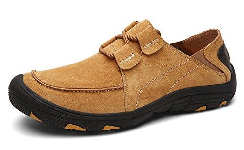 TDA ,  Herren Sneaker Low-Tops Gelb-Braun