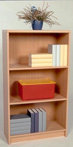35-120-27 Lilly2 Buche Dekor 60 x 106 x 28 cm Regal Stauraumregal Bücherregal... Buche Bücherregal