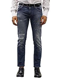 Dolce E Gabbana Homme G6XOLZG8U46S9001 Bleu Coton Jeans