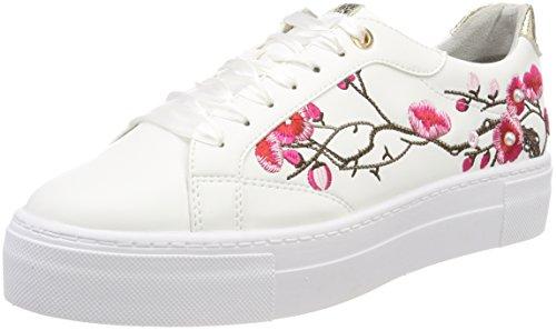 Tamaris Damen 23766 Sneaker, Weiß (White Comb), 40 EU