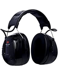 3M Peltor MT13H221P3E ProTac III Gehörschutz-Headset, Helmversion, Schwarz