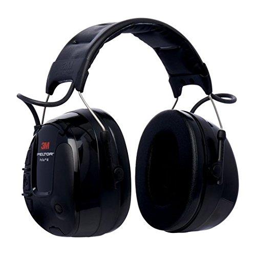 3M Peltor MT13H221A ProTac III Gehörschutz-Headset, Kopfbügel, Schwarz (Hörgeräte Sport)