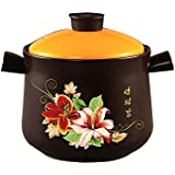 Tulipán hervidor de placer de gran capacidad olla cazuela de cerámica olla de sopa