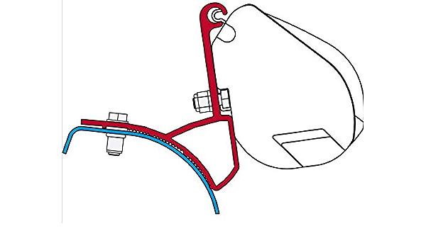 Fiamma Adapter F35 Pro Kit Renault Trafic Opel Vivaro Auto