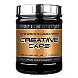 Scitec Ref.105615 Créatine Monohydrate Complément Alimentaire 120 Capsules - 93 gm