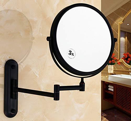 KYQ KYQXDB Badezimmer liefert WC-Badezimmer Europa Vintage Schwarz Bronze Kupfer Rahmen Double-Face...